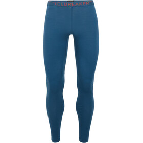 Icebreaker M's 200 Zone Leggings Prussian Blue/Chili Red